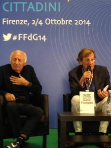 Mogol e Francesco Durante