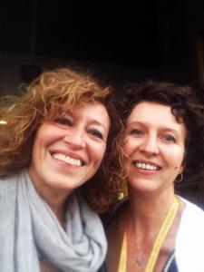 Angela Scipioni e Roberta Lepri