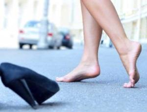 camminare nudi